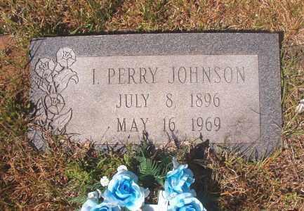 JOHNSON, I PERRY - Calhoun County, Arkansas | I PERRY JOHNSON - Arkansas Gravestone Photos