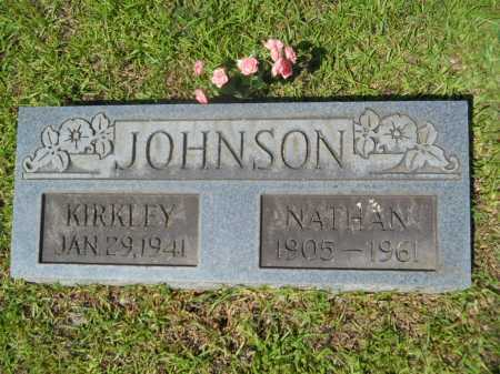 JOHNSON, KIRKLEY - Calhoun County, Arkansas | KIRKLEY JOHNSON - Arkansas Gravestone Photos