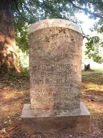 JOHNSON, MARY - Calhoun County, Arkansas | MARY JOHNSON - Arkansas Gravestone Photos