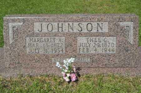 JOHNSON, MARGARET A - Calhoun County, Arkansas | MARGARET A JOHNSON - Arkansas Gravestone Photos