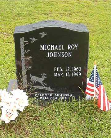 JOHNSON, MICHAEL ROY - Calhoun County, Arkansas | MICHAEL ROY JOHNSON - Arkansas Gravestone Photos