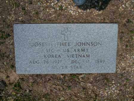JOHNSON (VETERAN 2 WARS), JOSEPH THEE - Calhoun County, Arkansas | JOSEPH THEE JOHNSON (VETERAN 2 WARS) - Arkansas Gravestone Photos