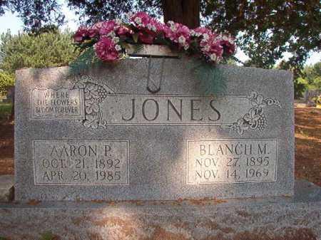 JONES, BLANCH M - Calhoun County, Arkansas   BLANCH M JONES - Arkansas Gravestone Photos