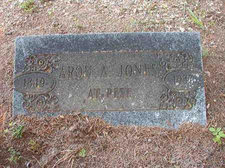 JONES, ARON A - Calhoun County, Arkansas | ARON A JONES - Arkansas Gravestone Photos