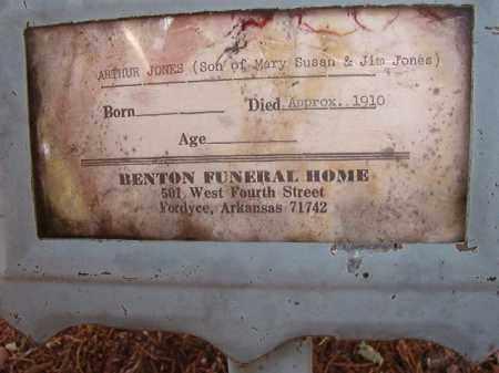 JONES, ARTHUR - Calhoun County, Arkansas | ARTHUR JONES - Arkansas Gravestone Photos