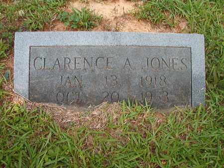 JONES, CLARENCE A - Calhoun County, Arkansas | CLARENCE A JONES - Arkansas Gravestone Photos