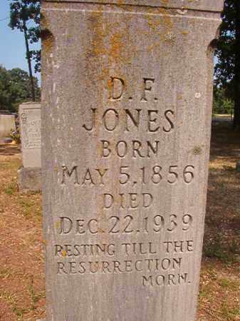 JONES, D F - Calhoun County, Arkansas | D F JONES - Arkansas Gravestone Photos