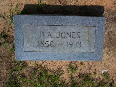 JONES, D.A. - Calhoun County, Arkansas | D.A. JONES - Arkansas Gravestone Photos