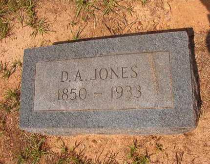 JONES, D A - Calhoun County, Arkansas | D A JONES - Arkansas Gravestone Photos