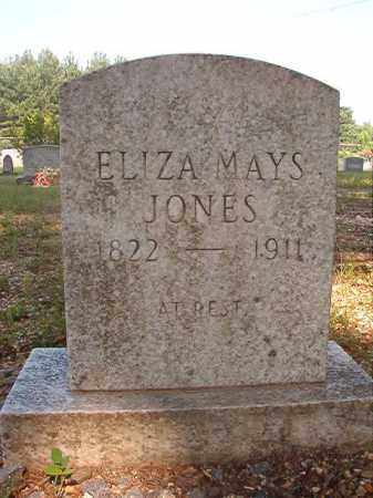 MAYS JONES, ELIZA - Calhoun County, Arkansas | ELIZA MAYS JONES - Arkansas Gravestone Photos