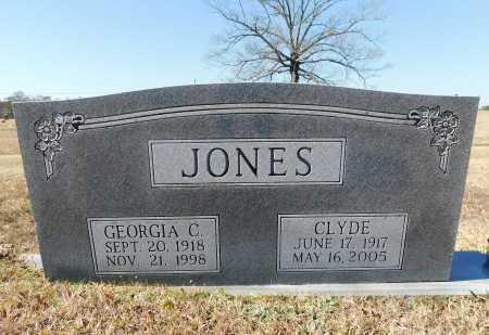 JONES, CLYDE - Calhoun County, Arkansas | CLYDE JONES - Arkansas Gravestone Photos