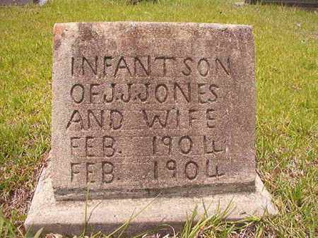 JONES, INFANT SON - Calhoun County, Arkansas | INFANT SON JONES - Arkansas Gravestone Photos