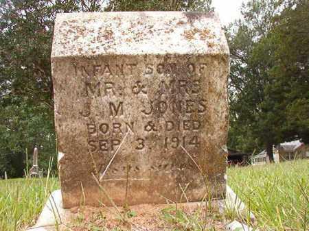 JONES, INFANT SON - Calhoun County, Arkansas   INFANT SON JONES - Arkansas Gravestone Photos