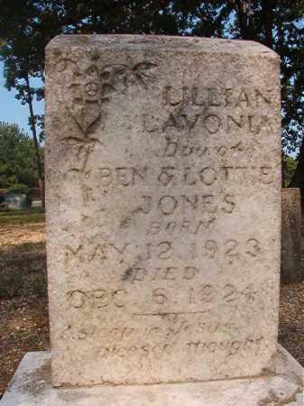 JONES, LILLIAN LAVONIA - Calhoun County, Arkansas | LILLIAN LAVONIA JONES - Arkansas Gravestone Photos