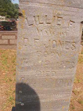 JONES, LILLIE F - Calhoun County, Arkansas   LILLIE F JONES - Arkansas Gravestone Photos