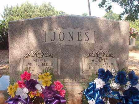 JONES, A DEWEY - Calhoun County, Arkansas | A DEWEY JONES - Arkansas Gravestone Photos