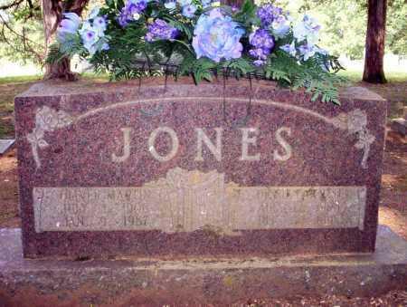 JONES, OLIVER MARTIN - Calhoun County, Arkansas | OLIVER MARTIN JONES - Arkansas Gravestone Photos
