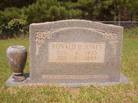 JONES, RONALD D - Calhoun County, Arkansas | RONALD D JONES - Arkansas Gravestone Photos