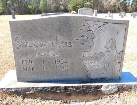 JONES, SHERMAN DEE - Calhoun County, Arkansas | SHERMAN DEE JONES - Arkansas Gravestone Photos