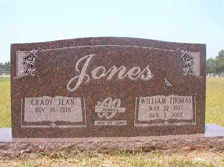 "JONES, WILLIAM THOMAS ""TOMMY"" - Calhoun County, Arkansas | WILLIAM THOMAS ""TOMMY"" JONES - Arkansas Gravestone Photos"