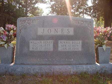 JONES, WILLIAM HENRY - Calhoun County, Arkansas   WILLIAM HENRY JONES - Arkansas Gravestone Photos