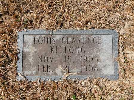 KELLOGG, LOUIS CLARENCE - Calhoun County, Arkansas | LOUIS CLARENCE KELLOGG - Arkansas Gravestone Photos