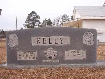 KELLY, FONDA - Calhoun County, Arkansas | FONDA KELLY - Arkansas Gravestone Photos