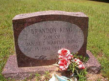 KING, BRANDON - Calhoun County, Arkansas | BRANDON KING - Arkansas Gravestone Photos