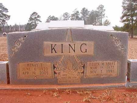 KING, HENRY T - Calhoun County, Arkansas | HENRY T KING - Arkansas Gravestone Photos