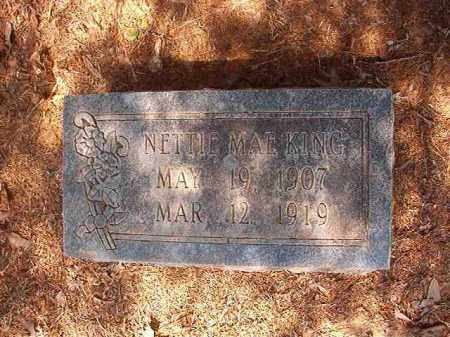 KING, NETTIE MAE - Calhoun County, Arkansas | NETTIE MAE KING - Arkansas Gravestone Photos
