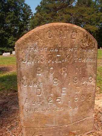 KITCHENS, AGNES - Calhoun County, Arkansas   AGNES KITCHENS - Arkansas Gravestone Photos