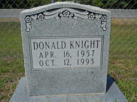 KNIGHT, DONALD - Calhoun County, Arkansas | DONALD KNIGHT - Arkansas Gravestone Photos