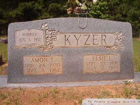 KYZER, AMON T - Calhoun County, Arkansas   AMON T KYZER - Arkansas Gravestone Photos