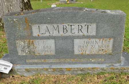 LAMBERT, JOHN L - Calhoun County, Arkansas | JOHN L LAMBERT - Arkansas Gravestone Photos
