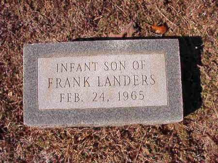 LANDERS, INFANT SON - Calhoun County, Arkansas | INFANT SON LANDERS - Arkansas Gravestone Photos