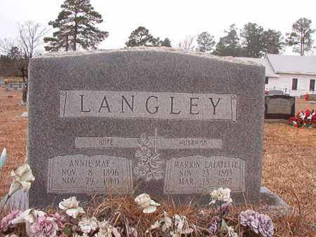 LANGLEY, ANNIE MAE - Calhoun County, Arkansas | ANNIE MAE LANGLEY - Arkansas Gravestone Photos
