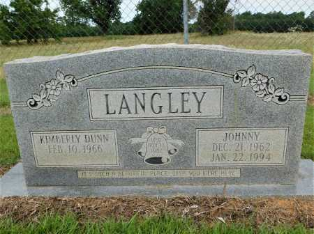 LANGLEY, JOHNNY - Calhoun County, Arkansas | JOHNNY LANGLEY - Arkansas Gravestone Photos