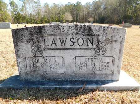 LAWSON, BERTHA - Calhoun County, Arkansas   BERTHA LAWSON - Arkansas Gravestone Photos