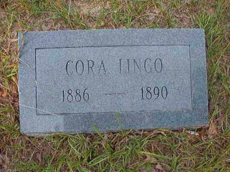LINGO, CORA - Calhoun County, Arkansas | CORA LINGO - Arkansas Gravestone Photos