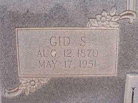 LOCKRIDGE, GID S - Calhoun County, Arkansas | GID S LOCKRIDGE - Arkansas Gravestone Photos