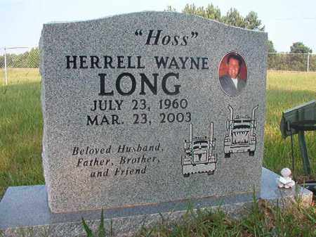 "LONG, HERRELL WAYNE ""HOSS"" - Calhoun County, Arkansas 