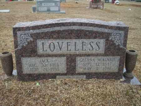 LOVELESS, JACK - Calhoun County, Arkansas   JACK LOVELESS - Arkansas Gravestone Photos