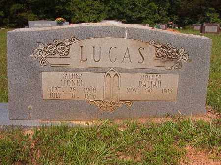 LUCAS, LIONEL - Calhoun County, Arkansas   LIONEL LUCAS - Arkansas Gravestone Photos