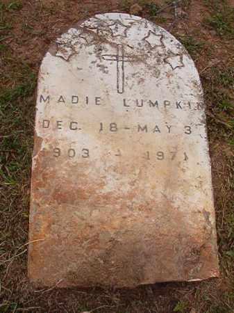 LUMPKIN, MADIE - Calhoun County, Arkansas   MADIE LUMPKIN - Arkansas Gravestone Photos