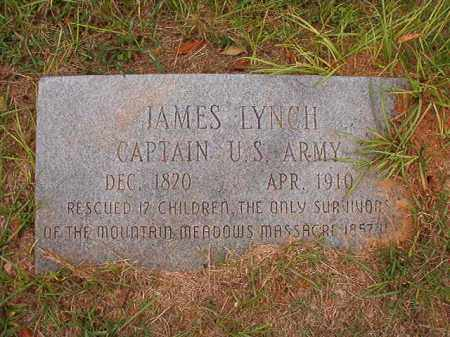 LYNCH (VETERAN), JAMES - Calhoun County, Arkansas | JAMES LYNCH (VETERAN) - Arkansas Gravestone Photos