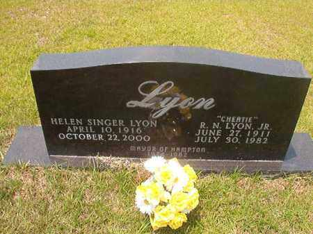 LYON, HELEN - Calhoun County, Arkansas | HELEN LYON - Arkansas Gravestone Photos