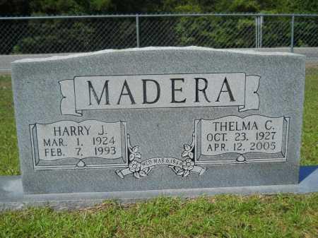 MADERA, HARRY J - Calhoun County, Arkansas | HARRY J MADERA - Arkansas Gravestone Photos