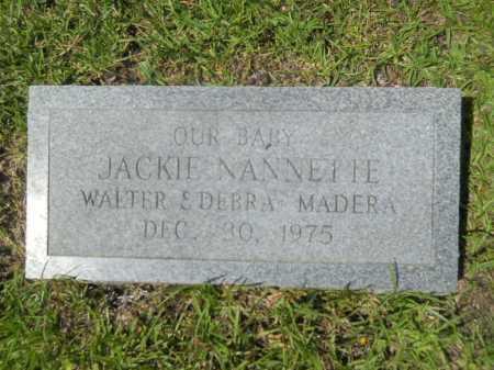 MADERA, JACKIE NANNETTE - Calhoun County, Arkansas | JACKIE NANNETTE MADERA - Arkansas Gravestone Photos