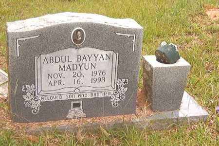 MADYUN, ABDUL BAYYAN - Calhoun County, Arkansas   ABDUL BAYYAN MADYUN - Arkansas Gravestone Photos