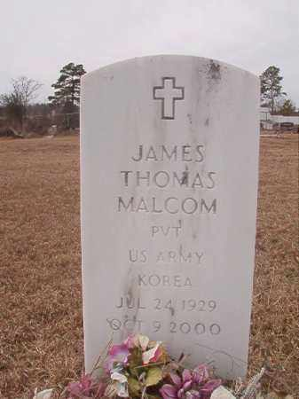MALCOM (VETERAN KOR), JAMES THOMAS - Calhoun County, Arkansas | JAMES THOMAS MALCOM (VETERAN KOR) - Arkansas Gravestone Photos